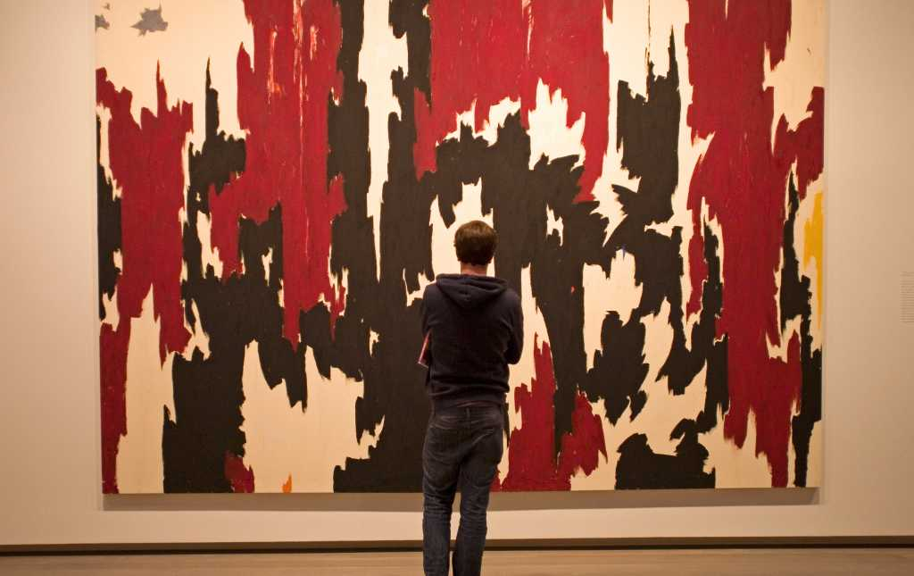 Amazing ly in Denver Clyfford Still s Famous 1957 J No 2 Painting Luxury - Elegant paint nite denver In 2018