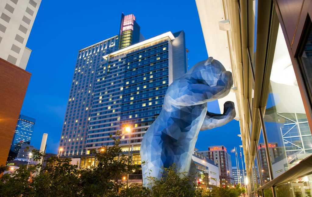 Colorado Convention Center Blue Bear Public Art