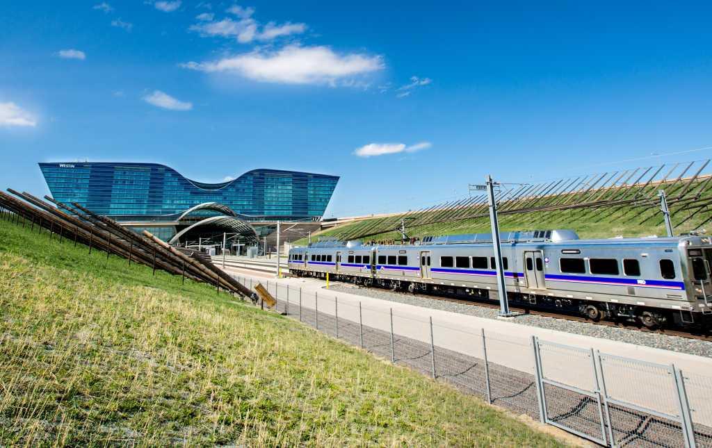 Denver Airport Rail