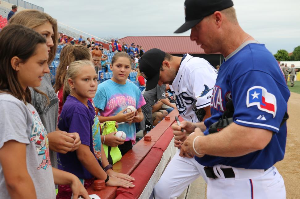 Autographs - NBC World Series