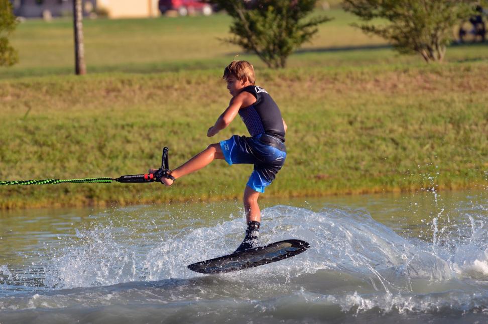 Jake Abelson 2018 GOODE Water Ski National Championships