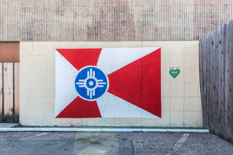 Wichita Flag Mural