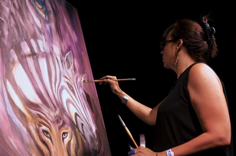 Zoobilee Painting
