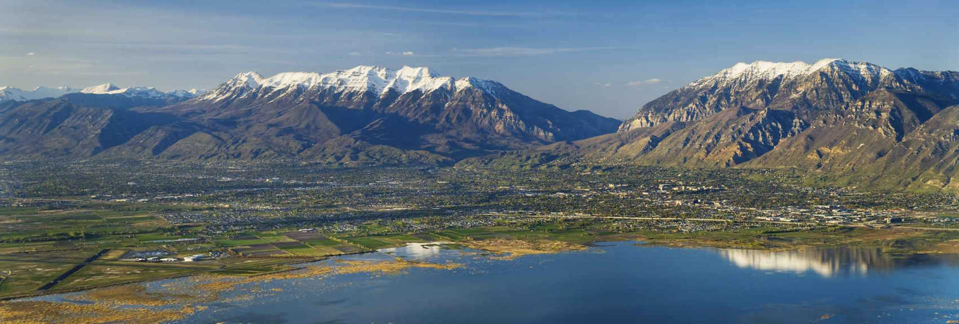 Utah Valley wide view