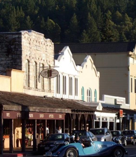 Downtown Calistoga