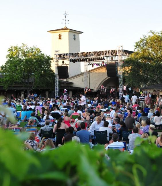 Outdoor Concerts Robert Mondavi