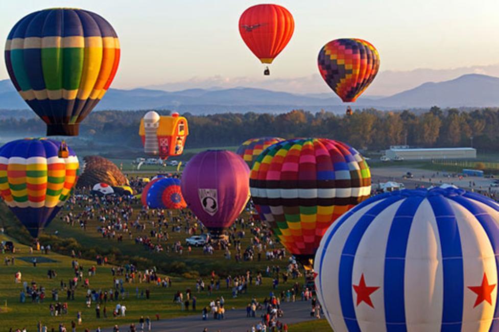 Adirondack Balloon Festival - Photo by Brian Evans www.BrianEvansPhotos.com