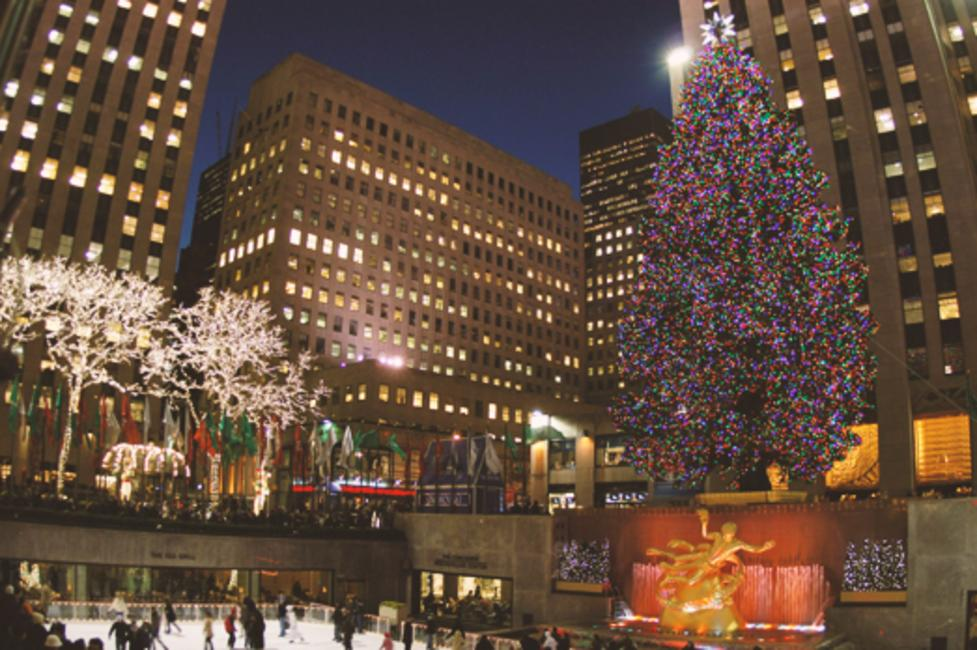 10 best places to see holiday lights in new york for Famous cities in new york