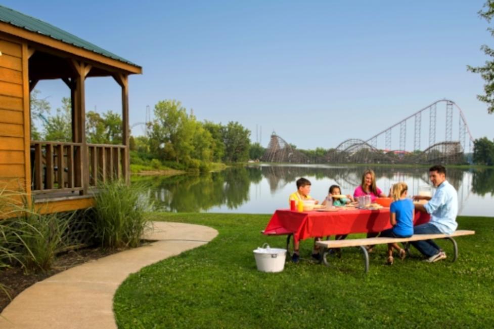 Cabins at Darien Lake Theme Park