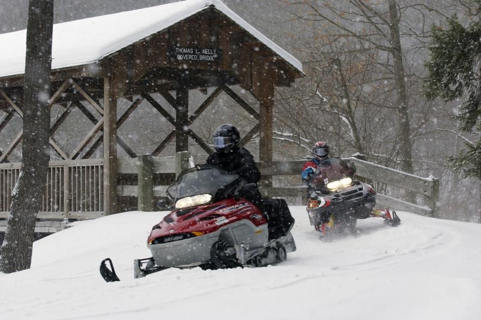 snowmobiling large
