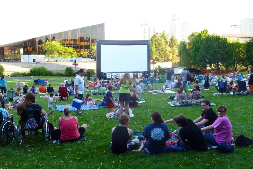 Summer Movies in Riverfront Park
