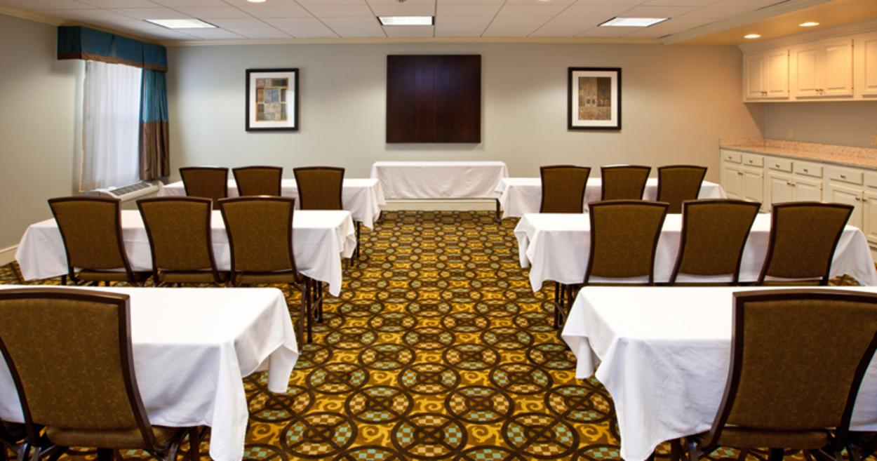 Empty Hotel Meeting Room