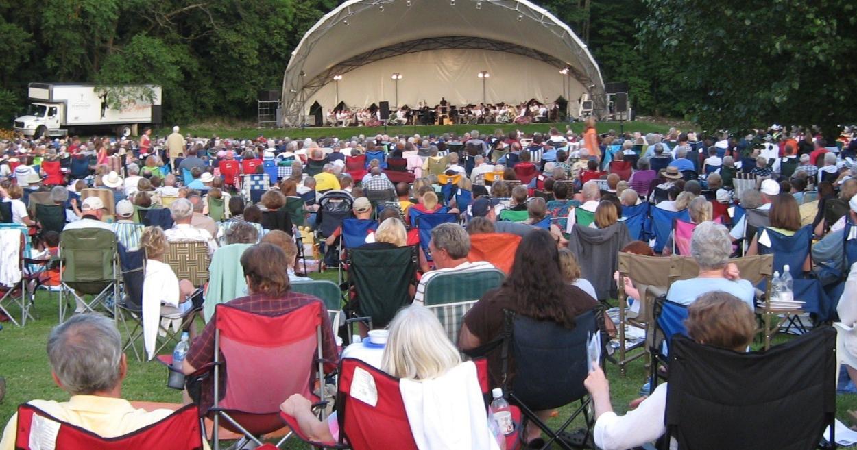 Symphony in Ellis Park - Danville, Indiana