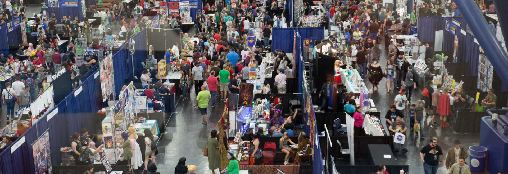 Crowd Comicpalooza