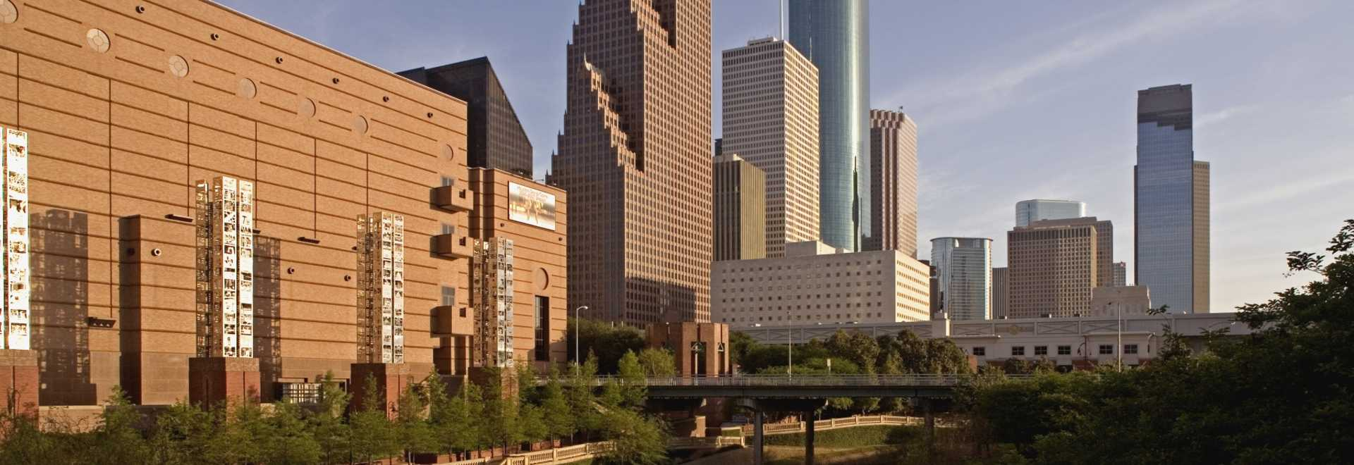 Houston Maps  Transportation Houston Meetings - Map of houston hotels downtown