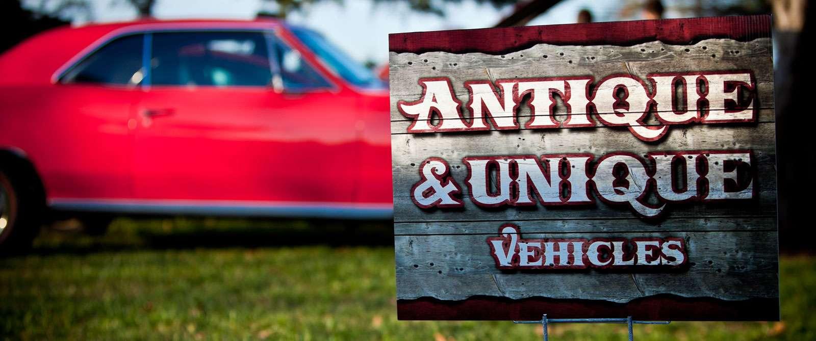 antique-car-sign