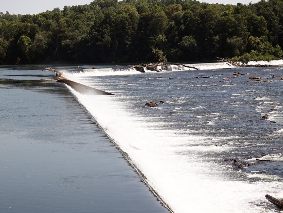Savannah River Fall Line