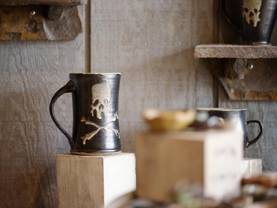 Iconic Tire City Potters Mugs