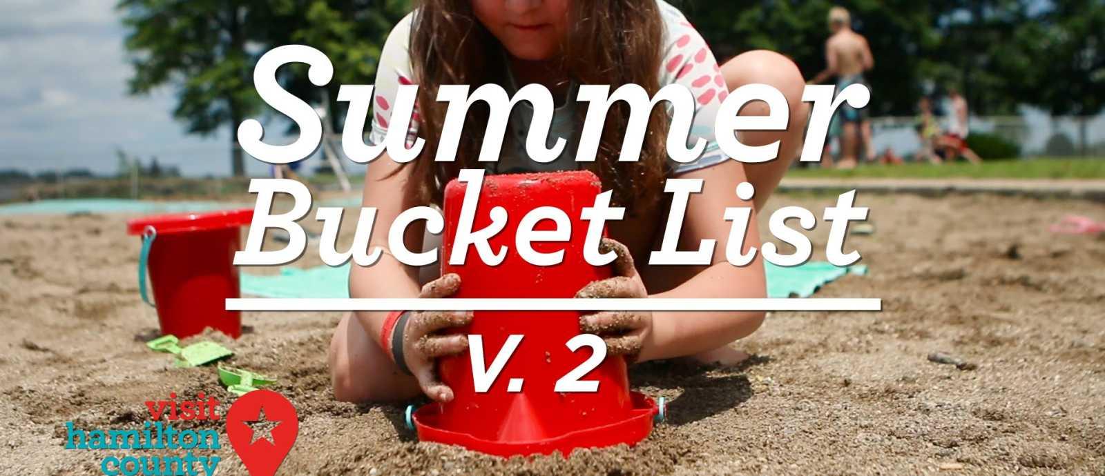 Hamilton County Summer Bucket List V. 2