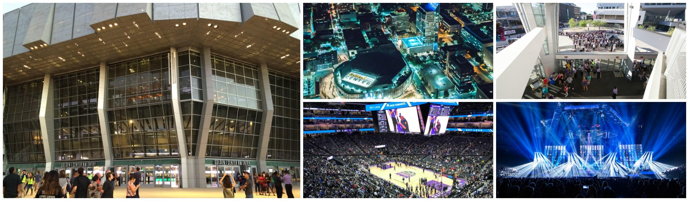 Golden 1 Center Header