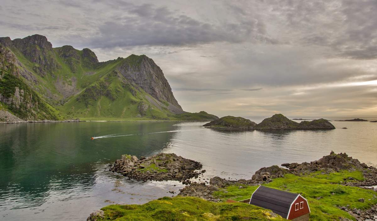 Autumn Is Getting Closer Official Travel Guide For Norway - Vesteralen norway map