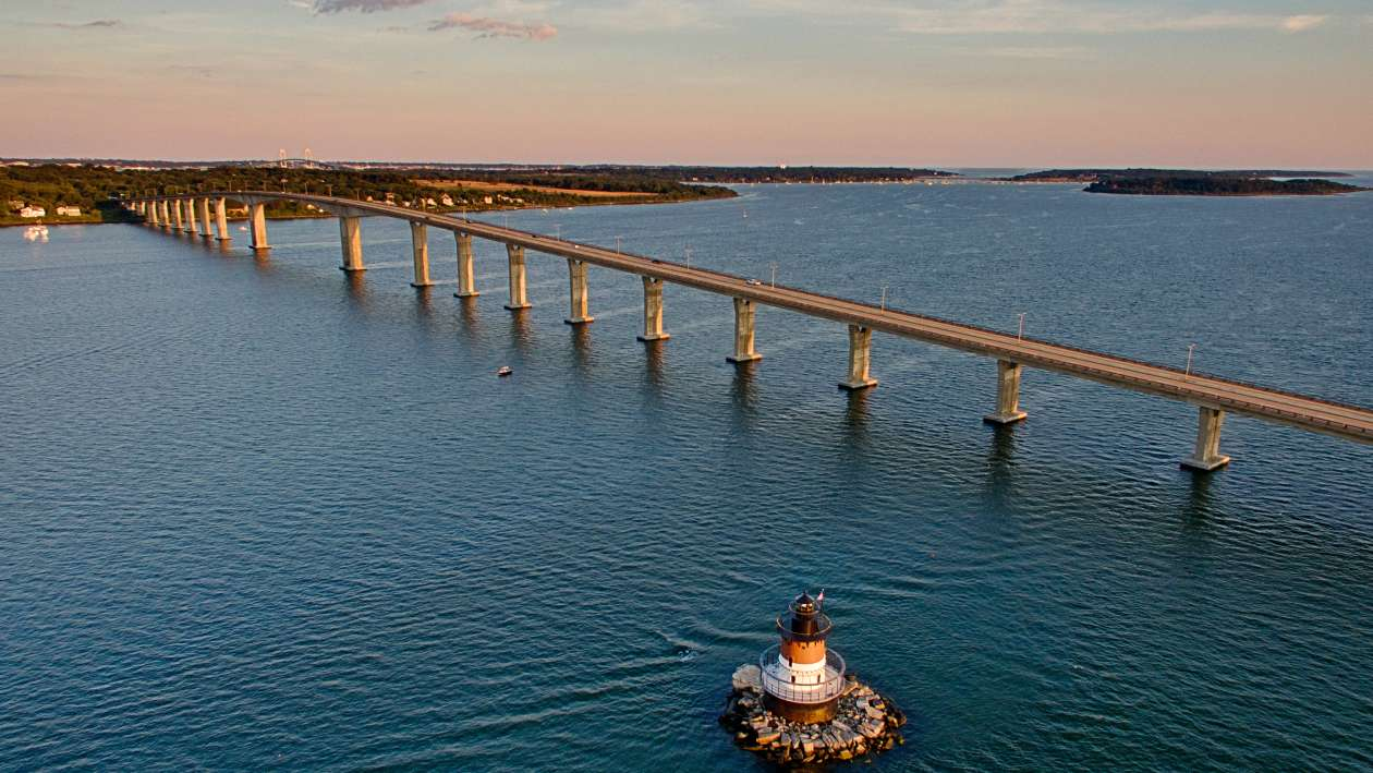 Jamestown Bridge & Plum Beach Lighthouse