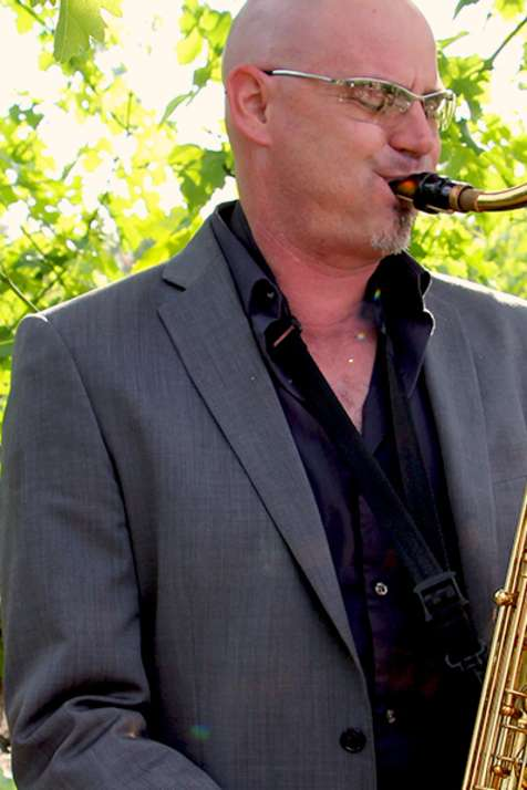 Saxophone Live Entertainment Wine Country