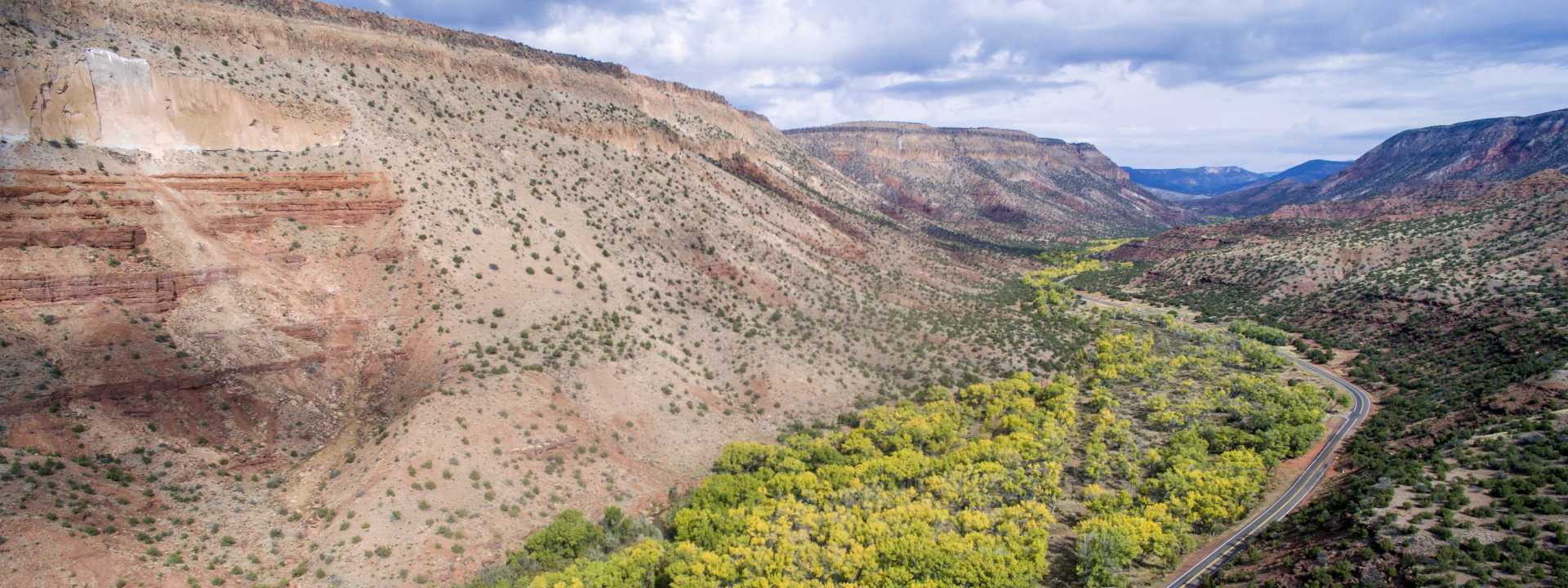 Jemez Mountain Trail National Scenic Byway Header