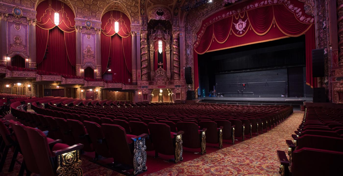 Kings Theatre, Interior