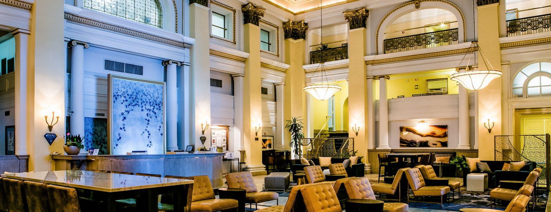The Westin Columbus Hotel Lobby