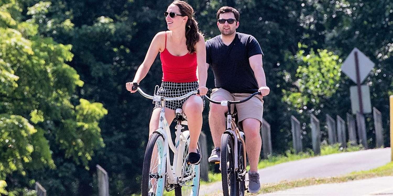 Ohio River Greenway, biking