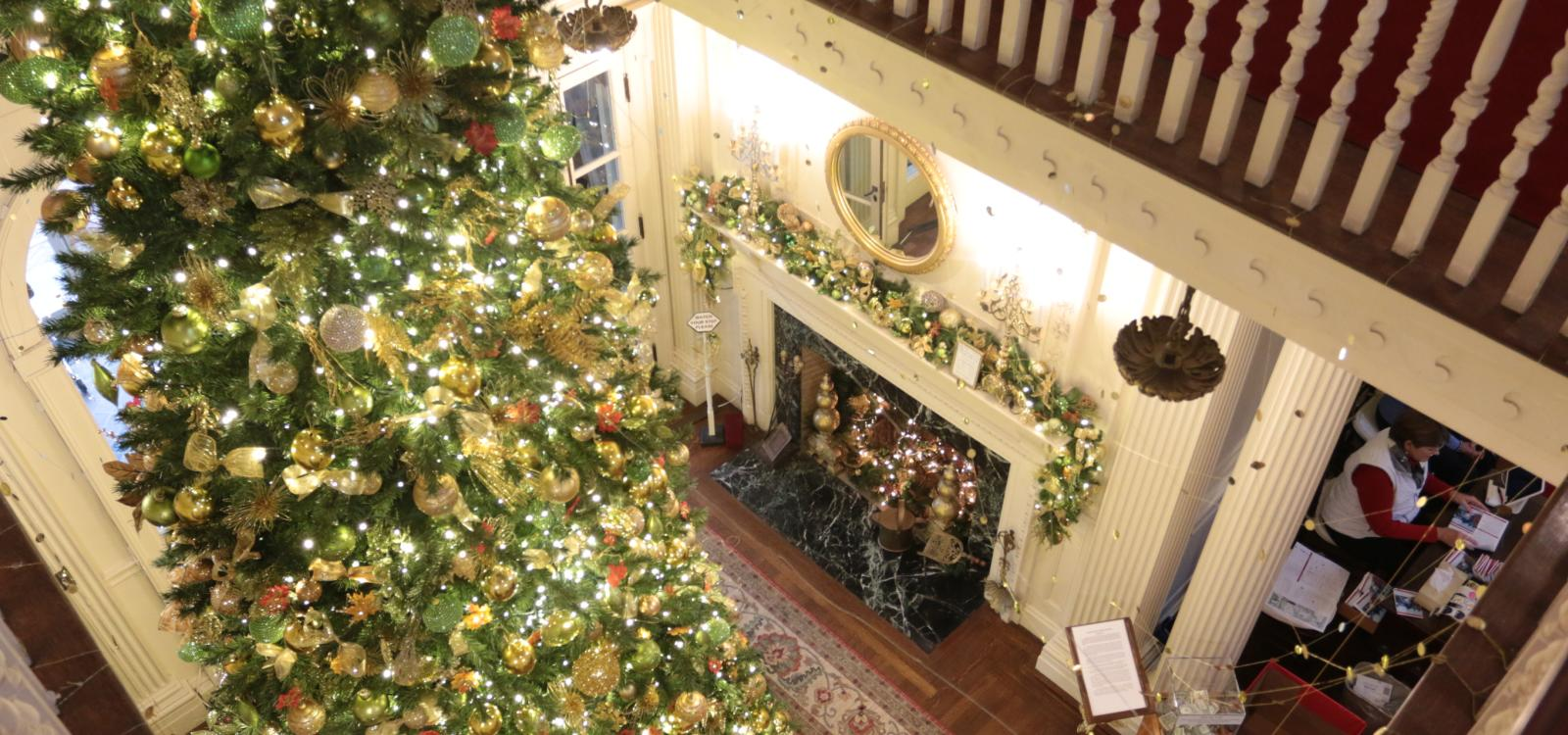 Christmas House Tour: Blithewold Mansion   Discover Newport, Rhode ...