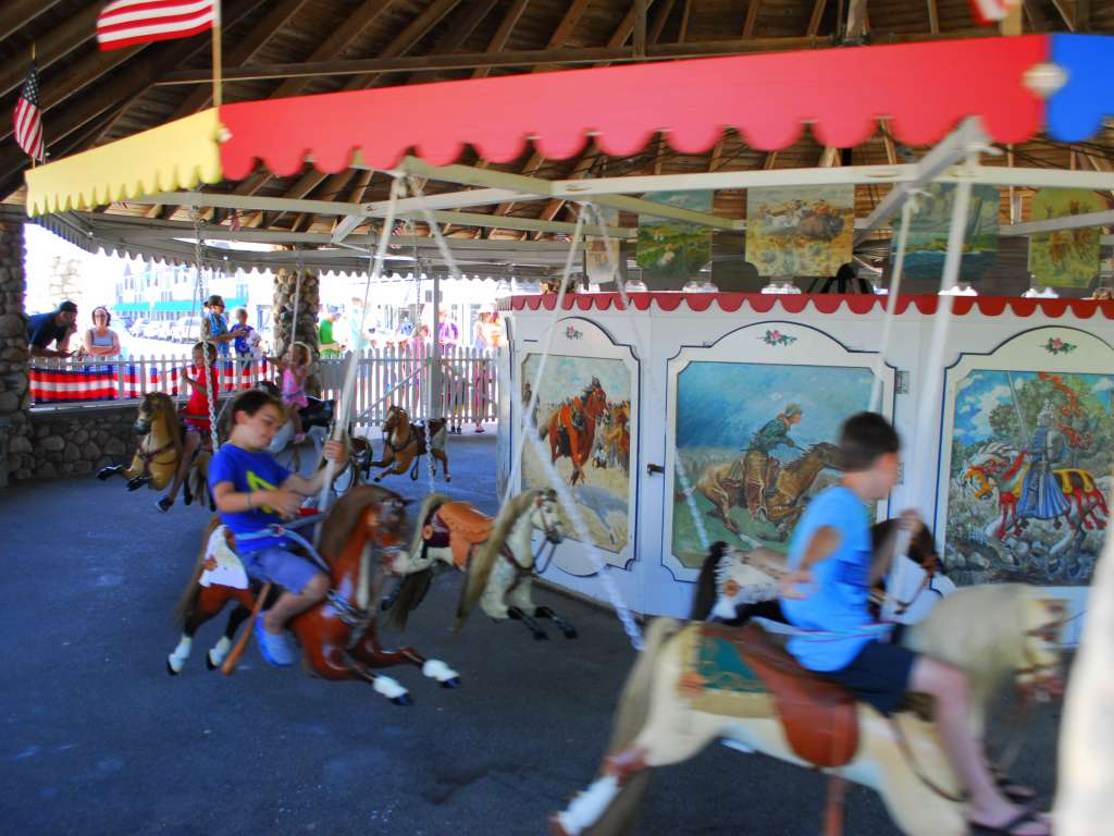 Flying Horse Carousel, Watch Hill