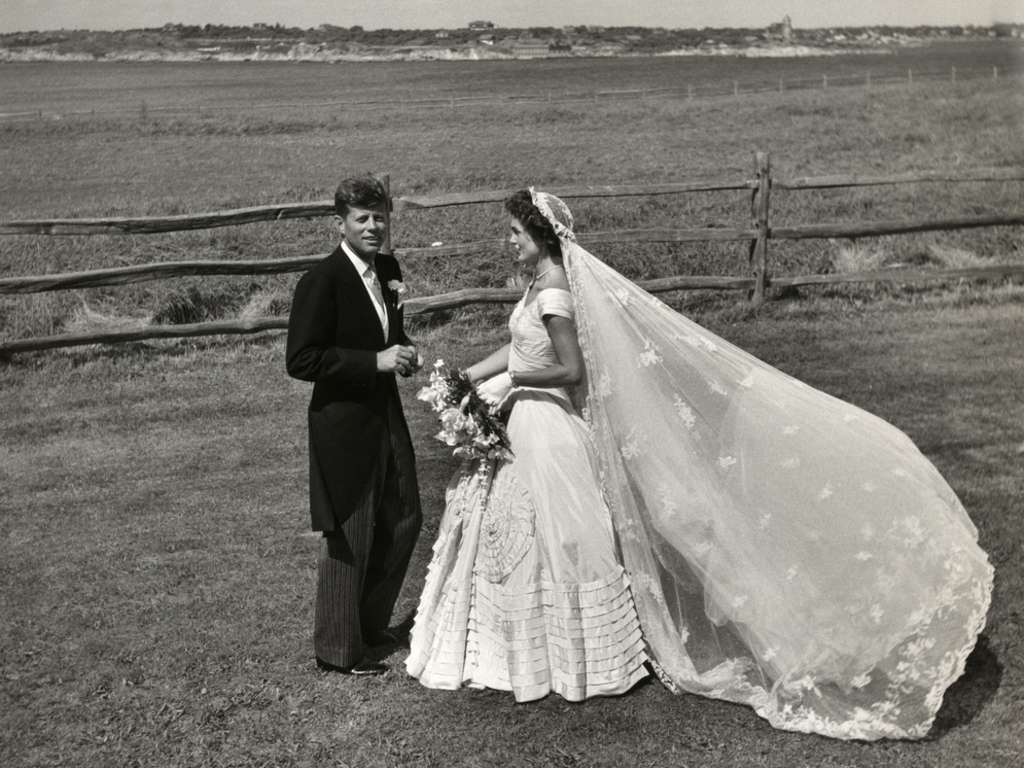 JFK & Jackie Kennedy Wedding