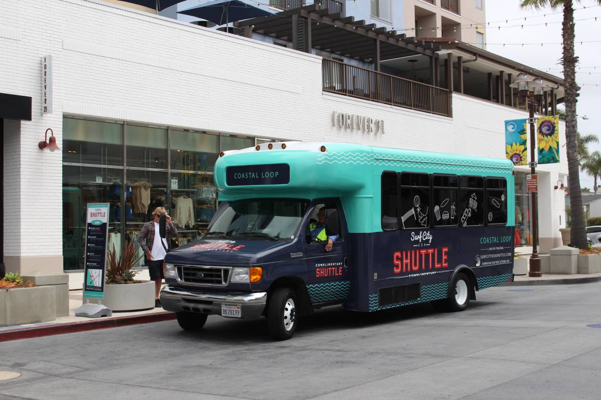 Surf City USA Shuttle 2017