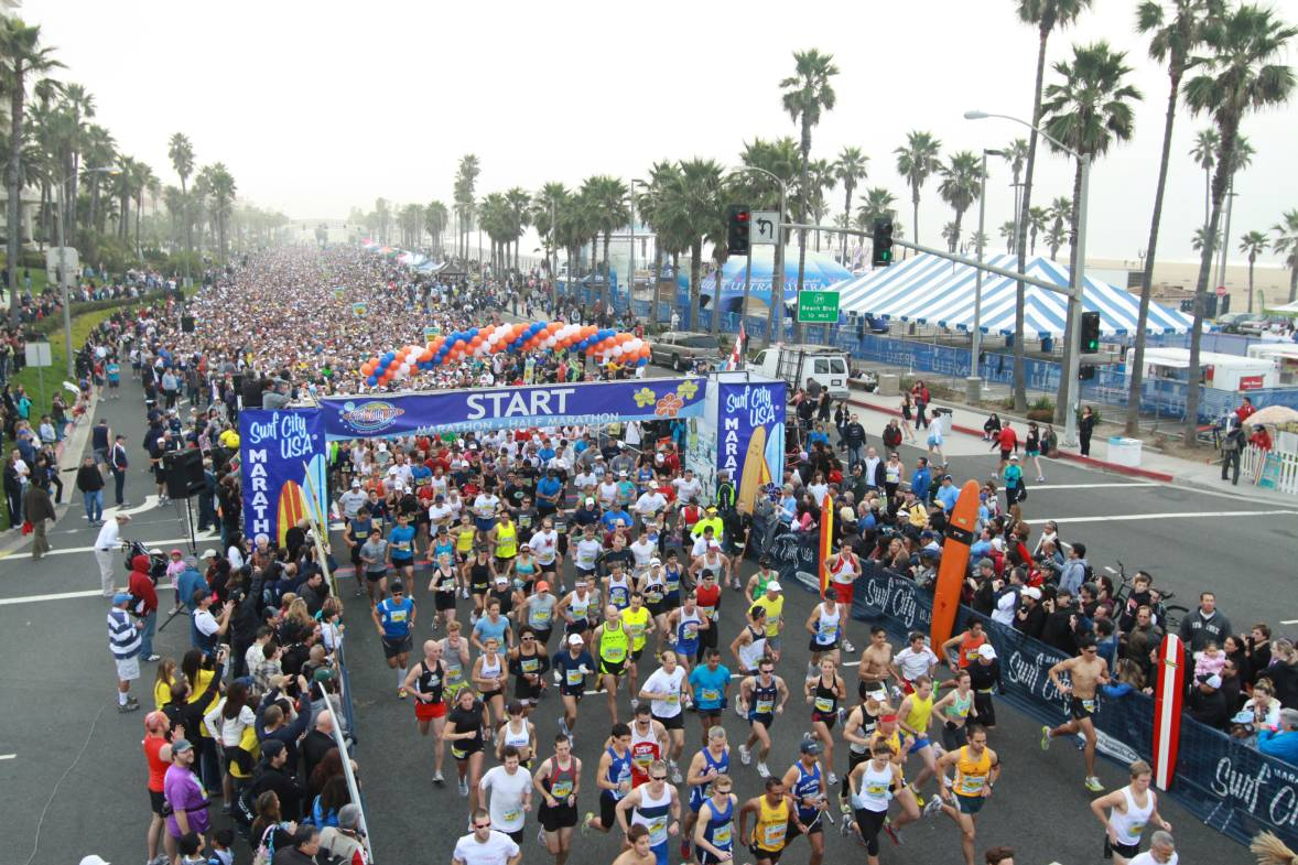 Huntington Beach Marathon and Half Marathon