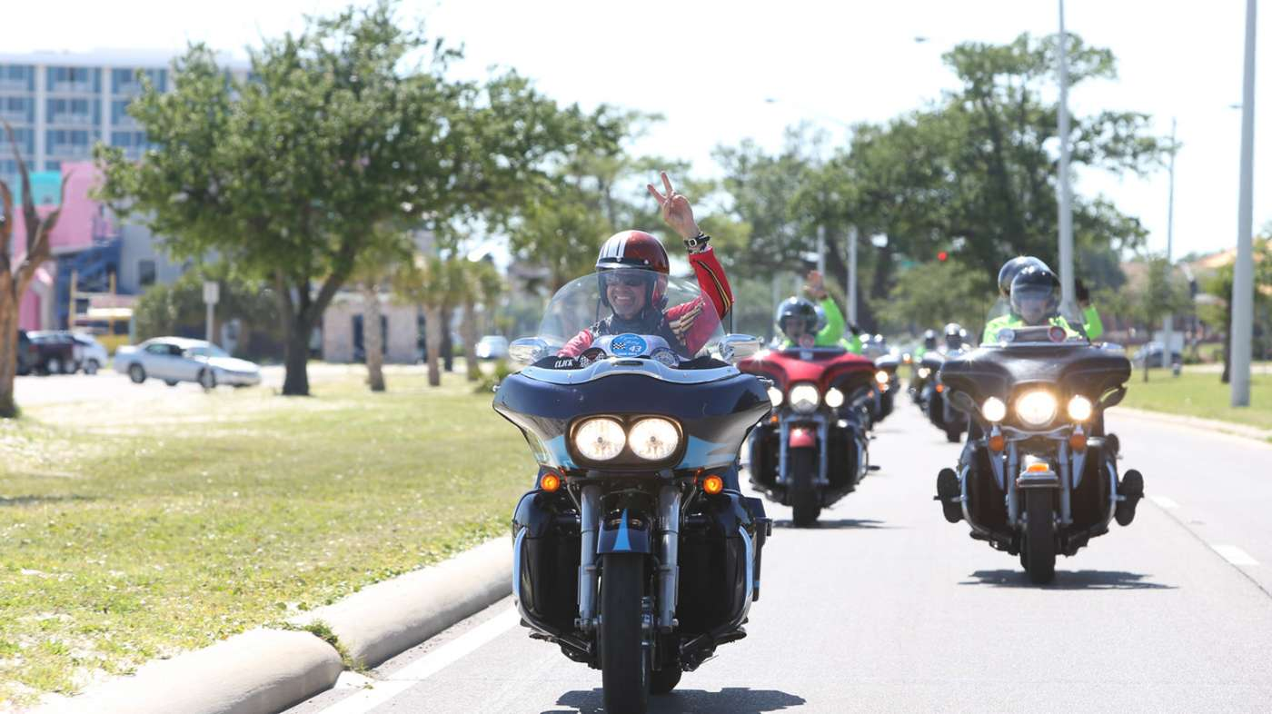 Kyle Petty Ride Across America