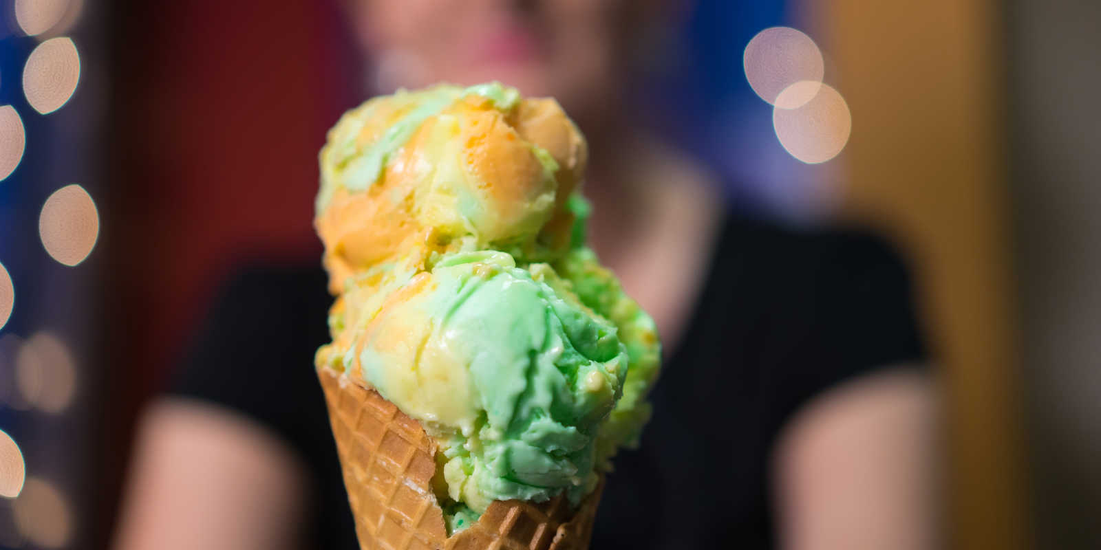 Ice cream cone Anchorage dining desserts