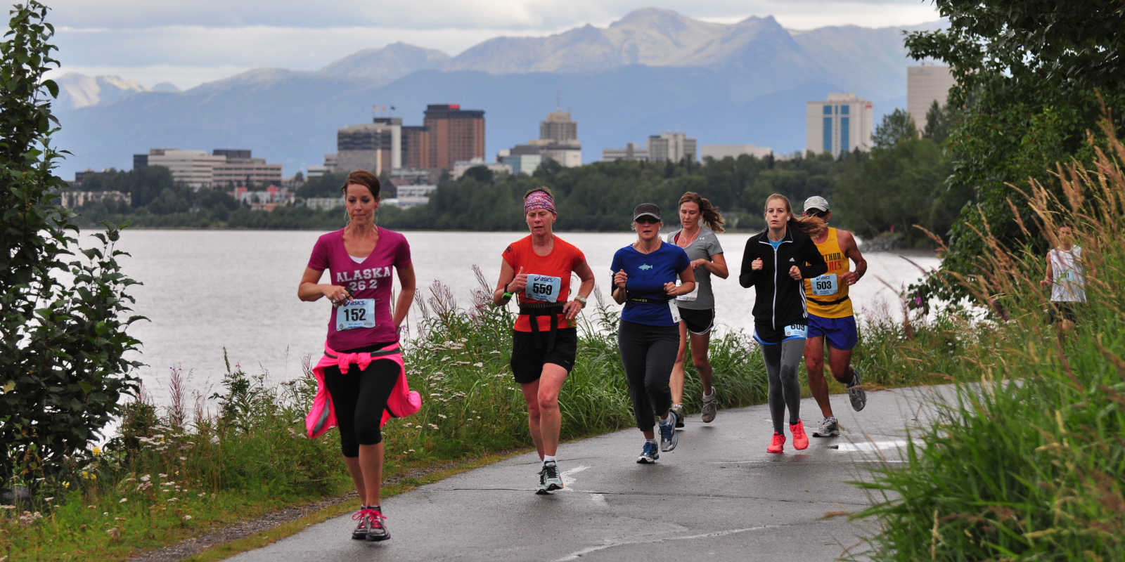 Anchorage marathons and running trails