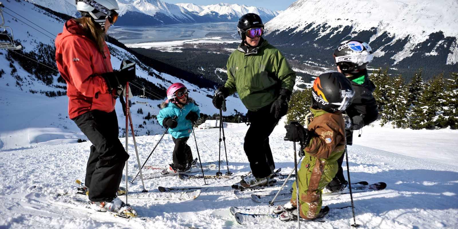 Anchorage skiing at Alyeska Resort