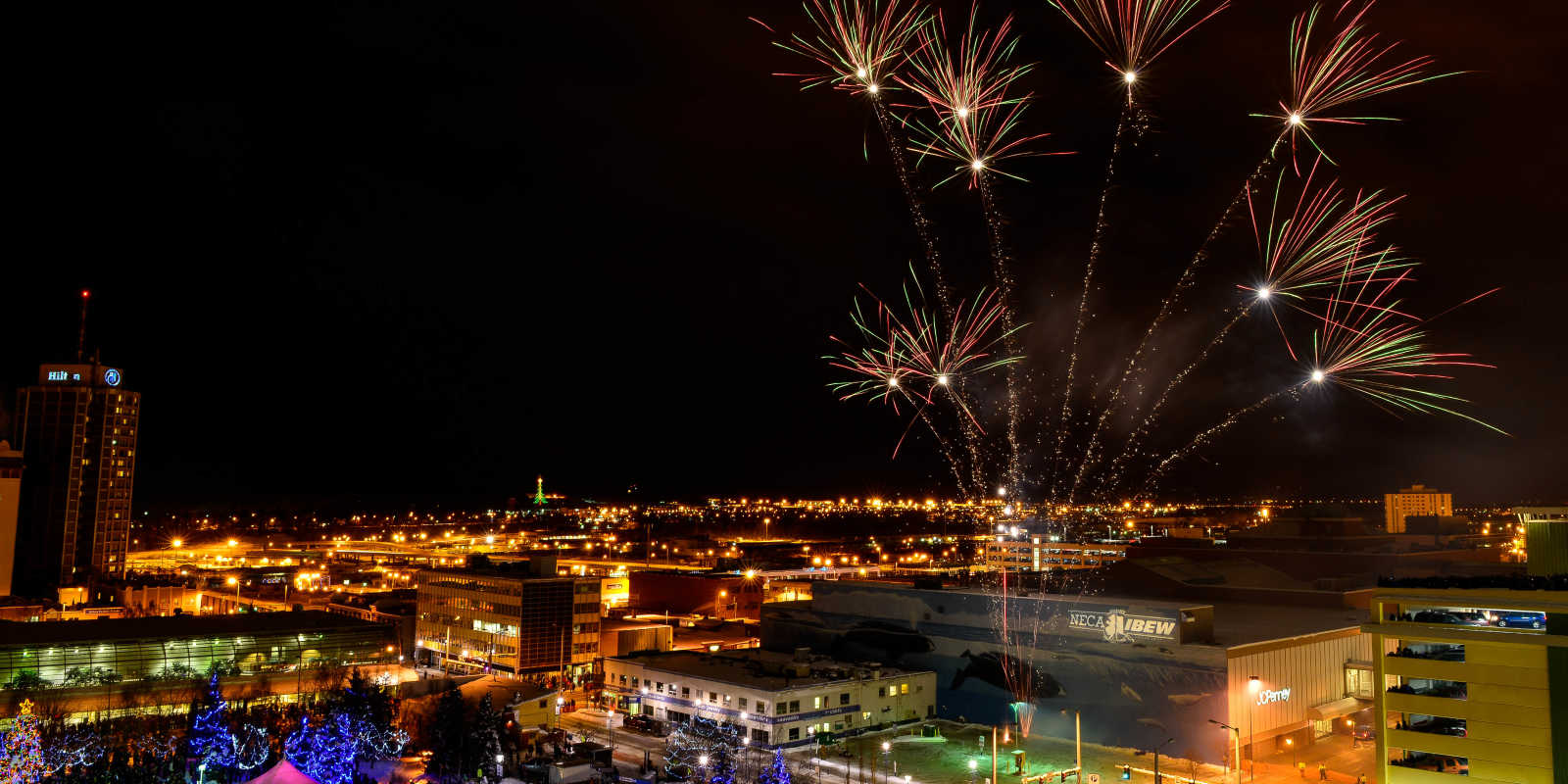 Anchorage New Years Eve Fireworks