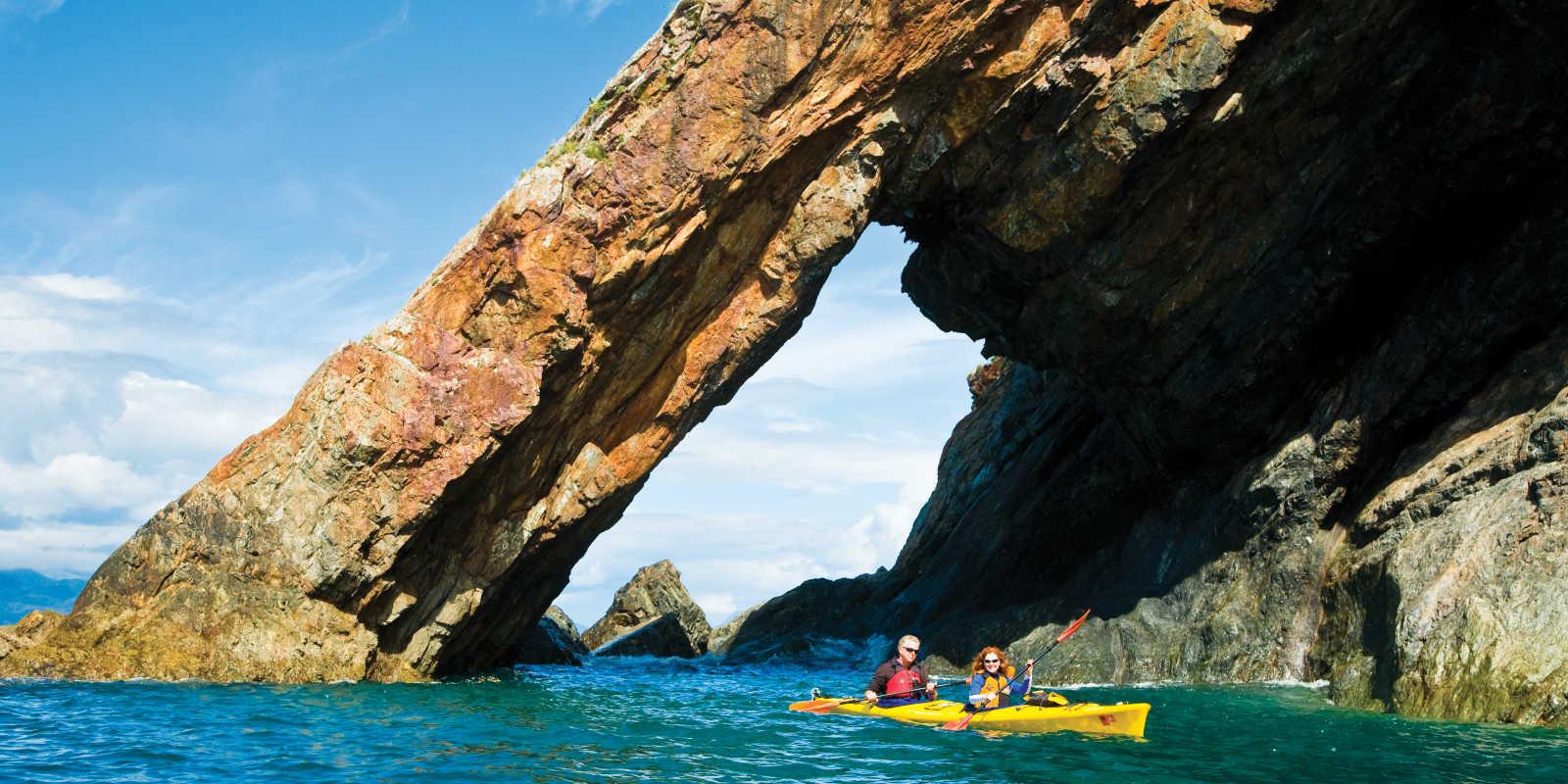 Kayaking in Kenai Fjords National Park