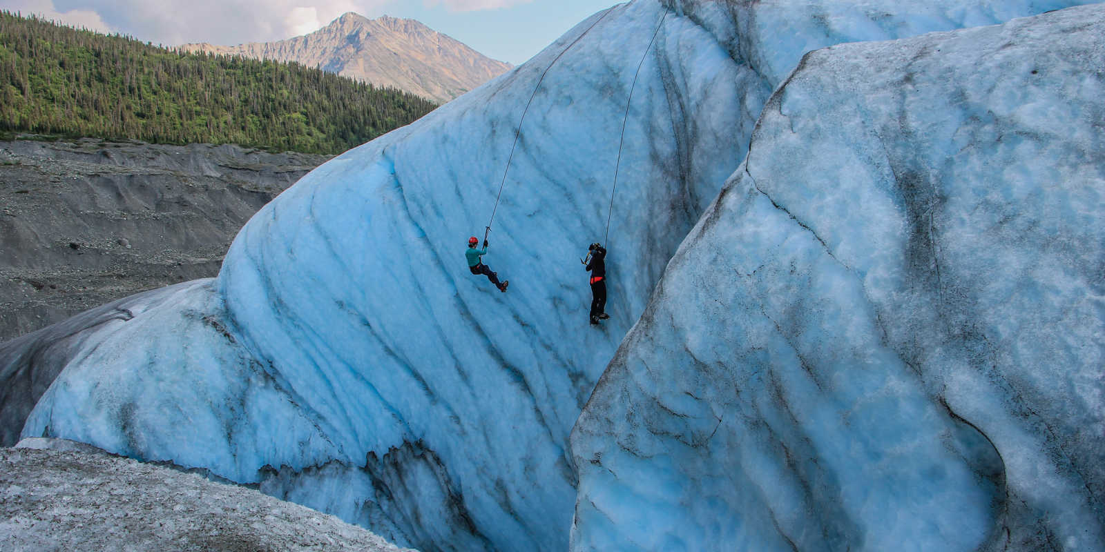 Ice climbing tours in Wrangell Saint Elias National Park
