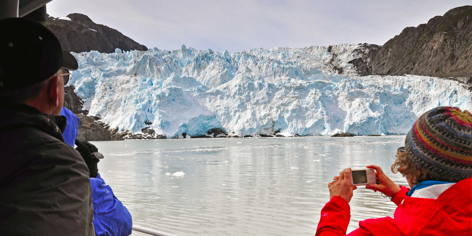 Alaska glacier day cruises near Anchorage in Kenai Fjords