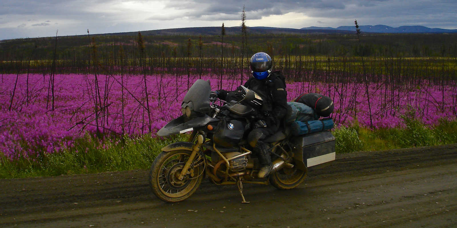 Alaska motorcycle tours dalton highway