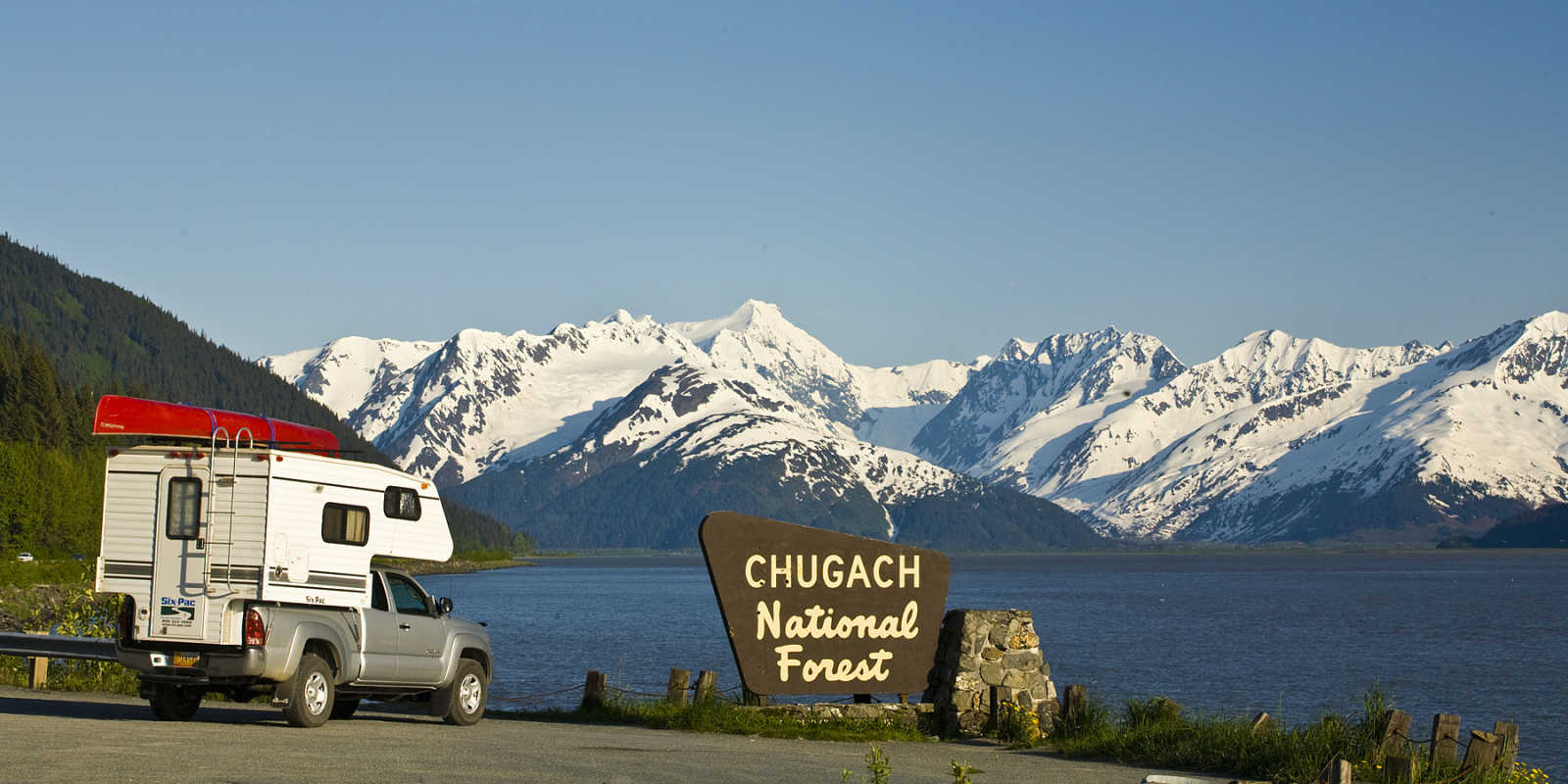RV trip through Chugach National Forest