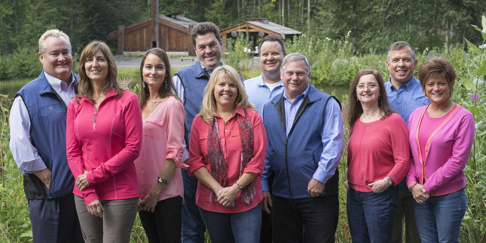 Senior management Visit Anchorage
