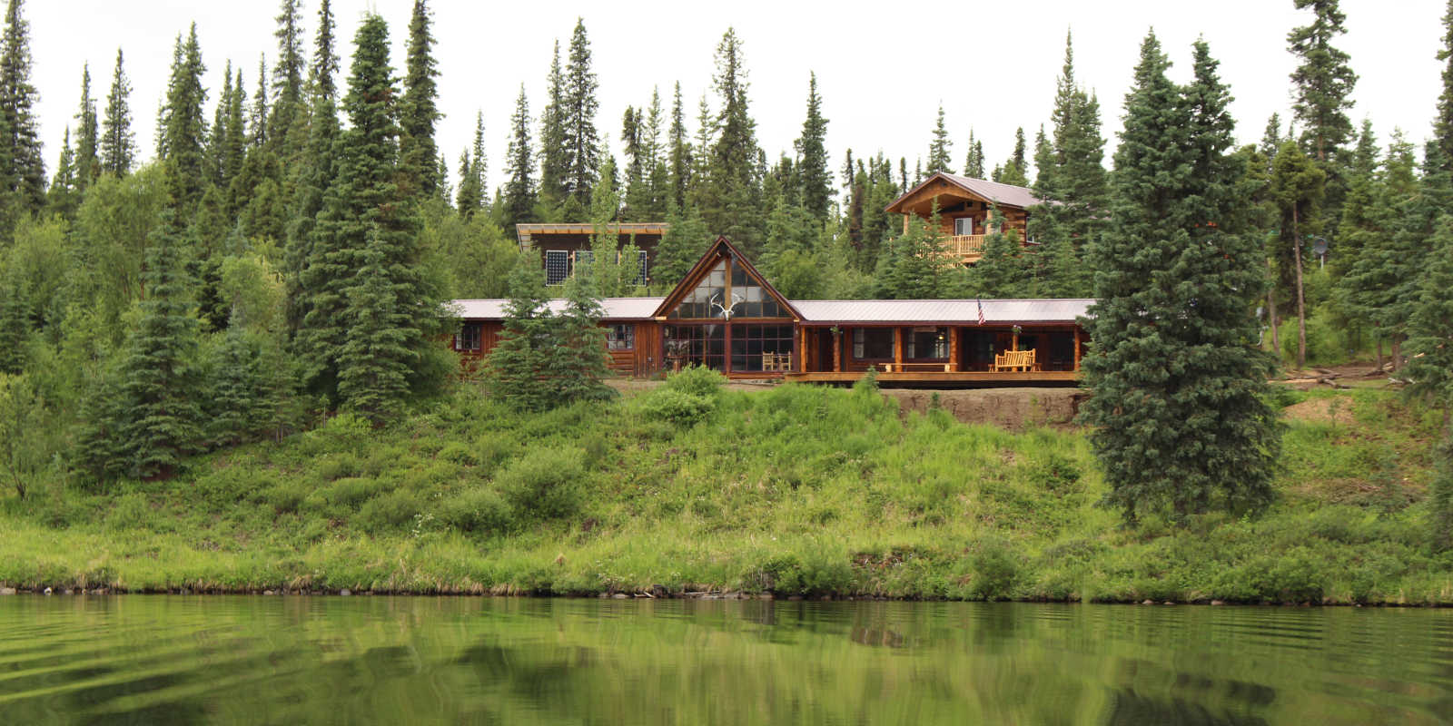 Stephan Lake Lodge fishing retreat