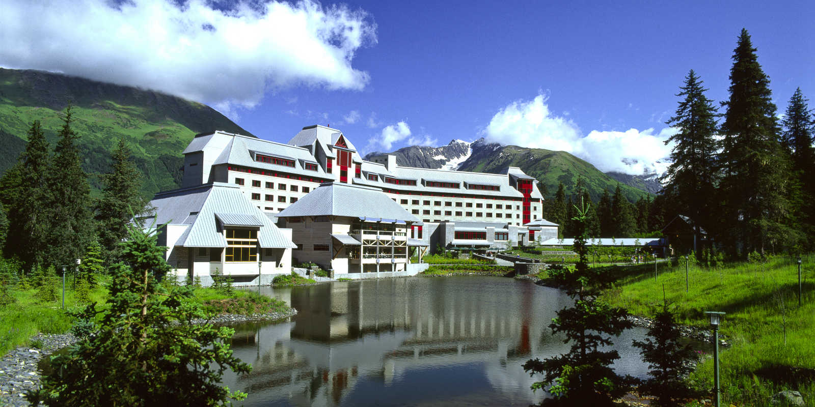 Alyeska Resort in Summer