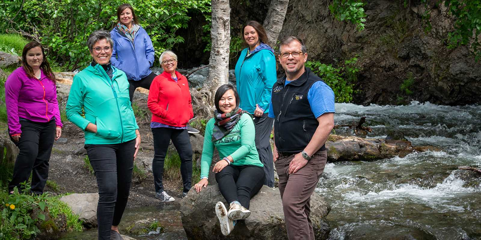 The Travel Trade team at Visit Anchorage